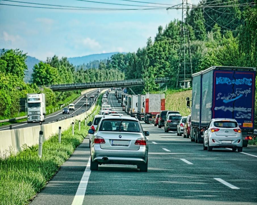 Aktuelle Verkehrslage A45